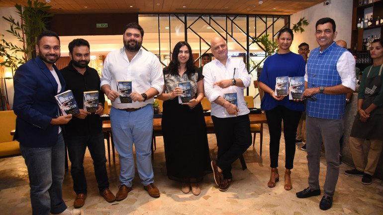 Anoothi Vishal Launches Her Book 'Business on a Platter'