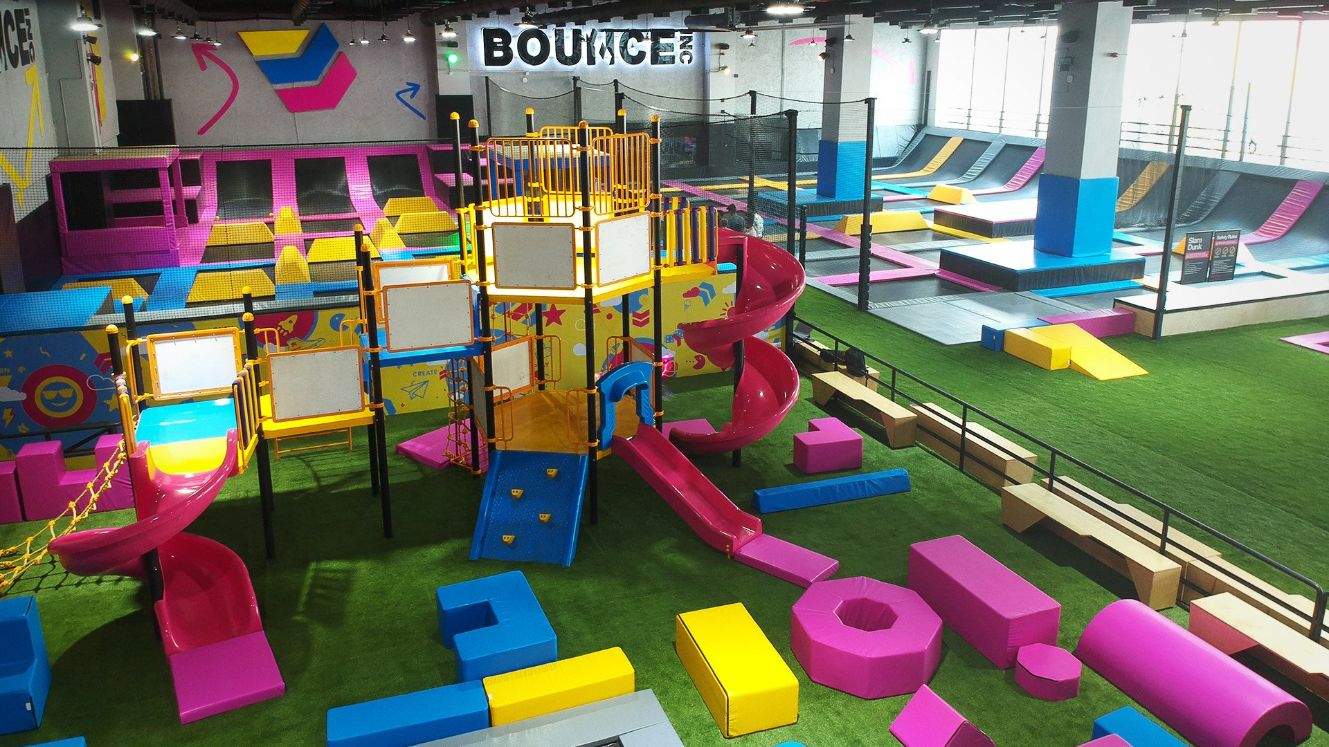 Bounce Your Heart Out At The Biggest Trampoline Park in India