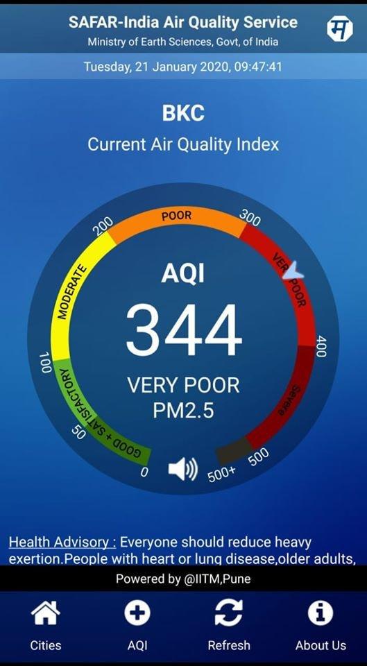 Mumbai's Air Quality Index Worsens Yet Again