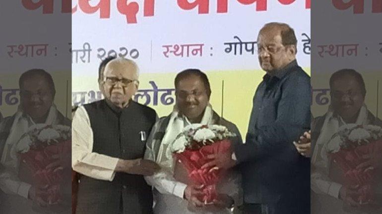 Ganesh Khankar elected as BJP's North Mumbai district President