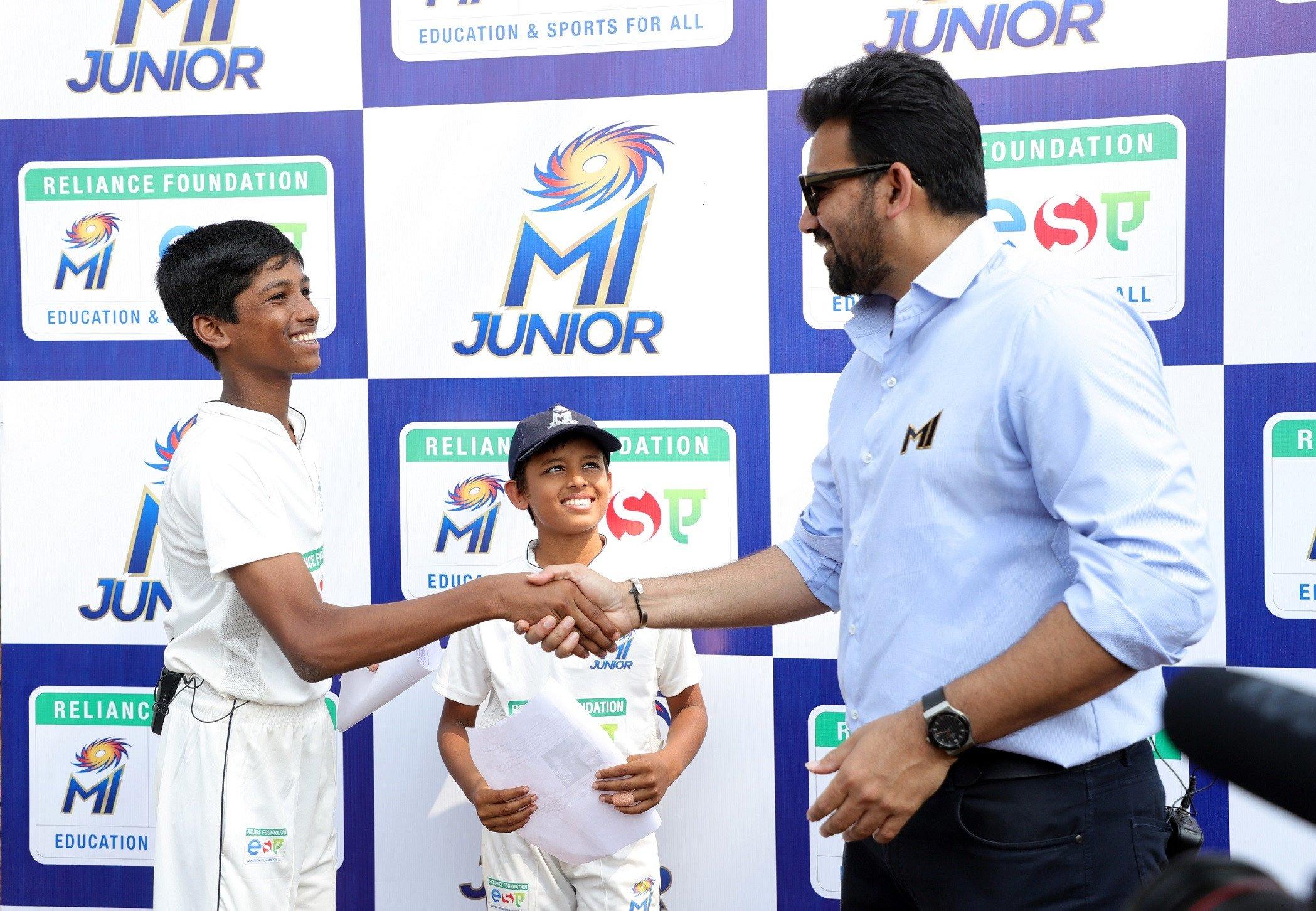 Second edition of Mumbai Indians' MI Junior expands to Pune & Nagpur