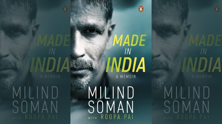 Milind Soman Releases His Debut Novel 'Made In India'