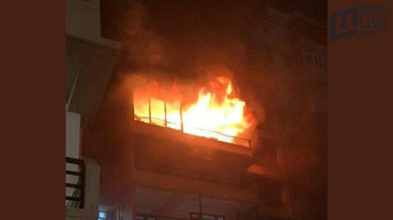 मालाबार हिल्स में इमारत में लगी आग, सभी सुरक्षित