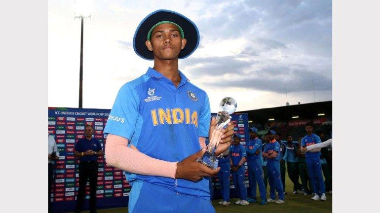 U-19 Cricket World Cup: Yashasvi Jaiswal adjudged 'Man of The Tournament'