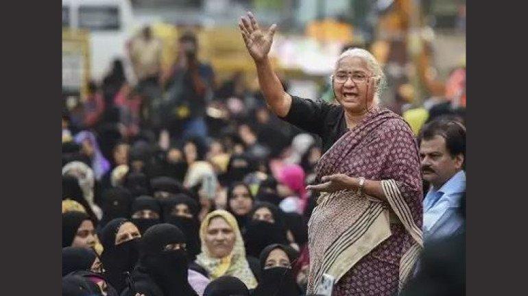 मेधा पाटकर पहुंची 'मुंबई बाग', कहा- लोग प्रदर्शनकारियों के साथ आकर एकजुटता प्रदर्शित करें