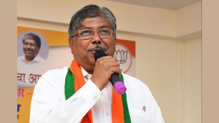 Chandrakant Patil re-appointed as Maharashtra BJP President