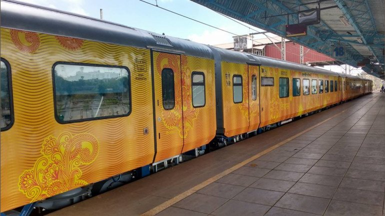 Passengers on the Mumbai - Ahmedabad Tejas Express will soon be fined for going over the luggage limit