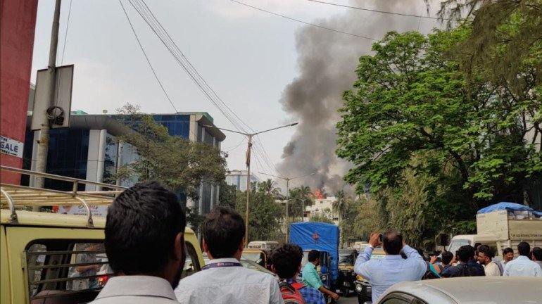 Fire in Andheri, other top stories of the day