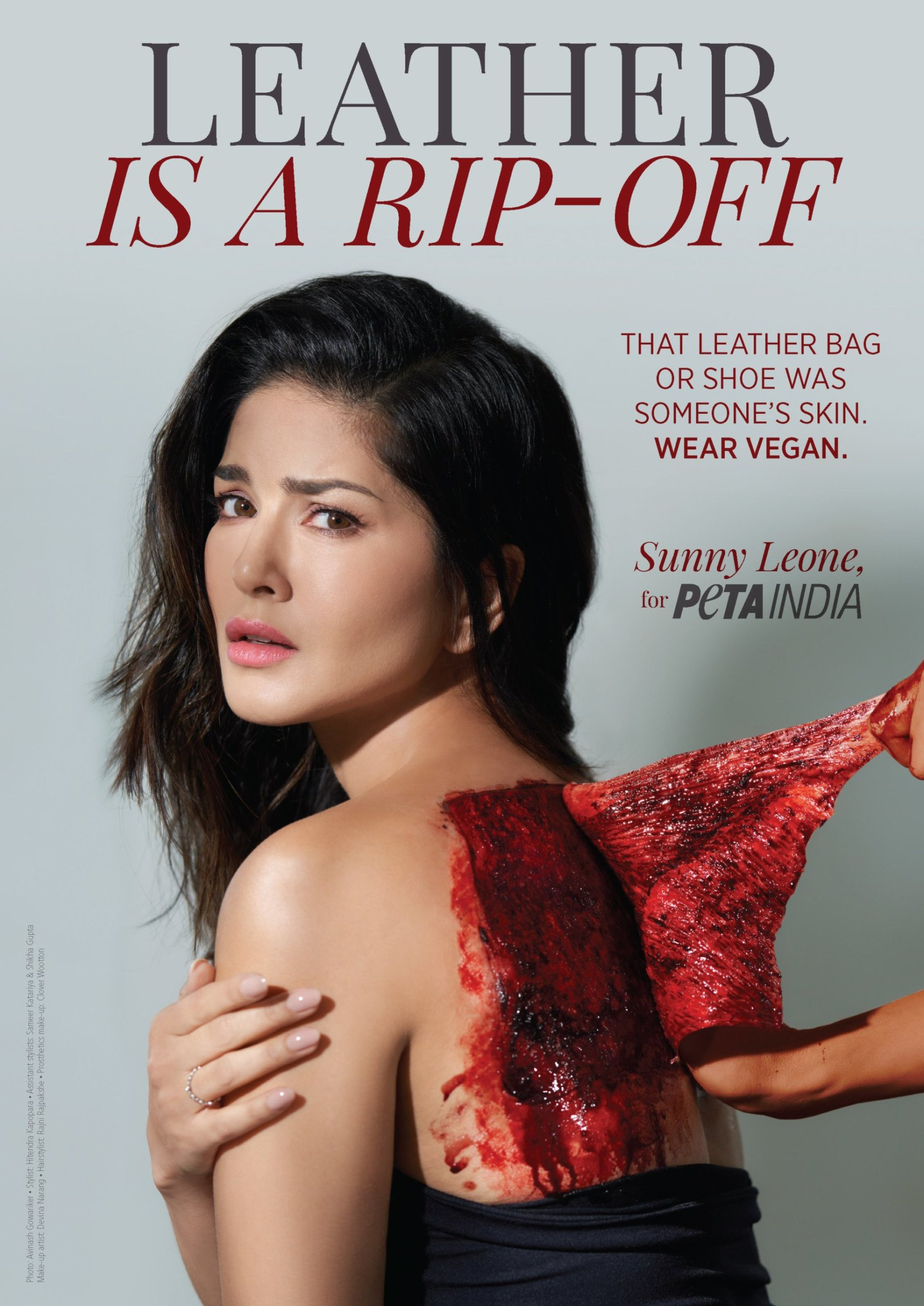 LFW 2020: Sunny Leone unveils her new ad for PETA India