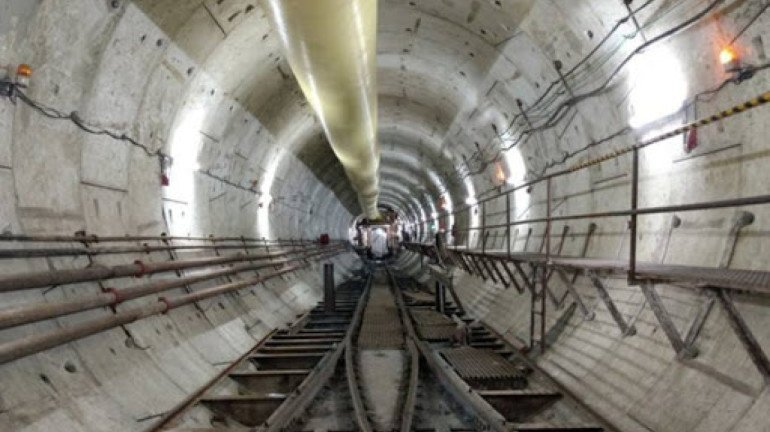 76 per cent tunnelling for Metro-3 has been completed