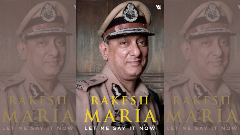 Rakesh Maria Releases His Book Titled 'Let Me Say It Now'