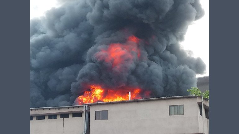 Fire Breaks Out At Dombivali's MIDC