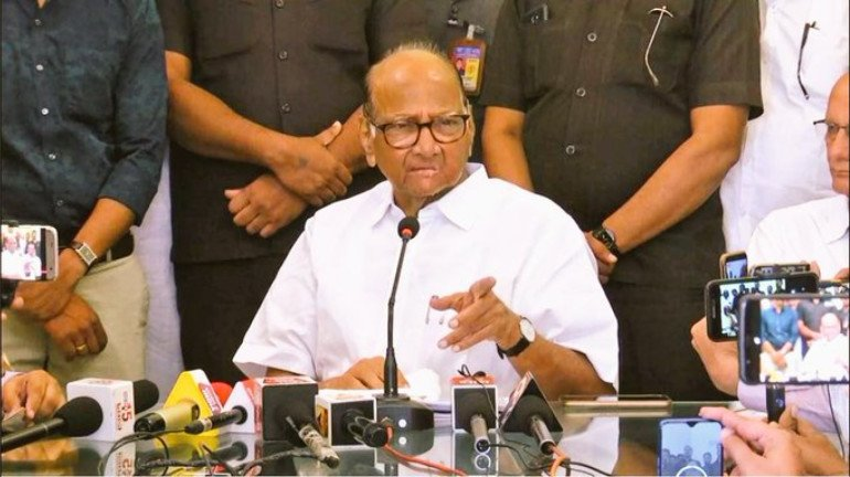 Elgar Parishad case: Someone leaked information to centre about setting up an SIT, hints Sharad Pawar