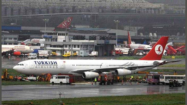 मुंबई आंतरराष्ट्रीय विमानतळावर मोठा अपघात टळला