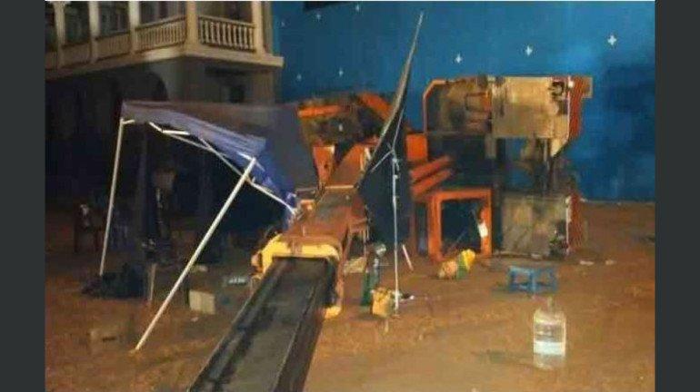 कमल हासन की फिल्म शूटिंग के दौरान हुआ बड़ा हादसा, 3 मरे 9 घायल