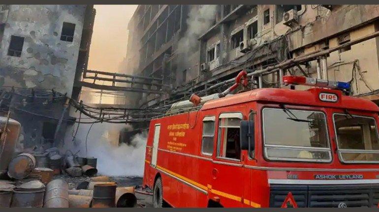 Fire Breaks Out At Dadar