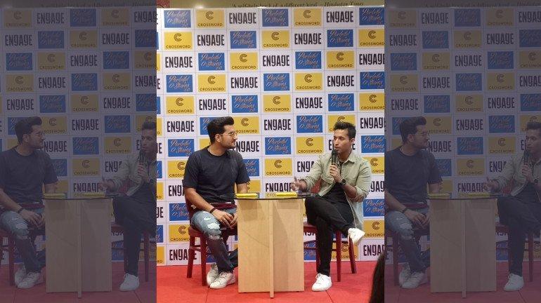 Durjoy Datta Releases His Book Pocketfull O' Stories