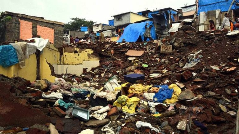 BMC issues warning notice to 121 residents living at disaster-prone areas in Powai