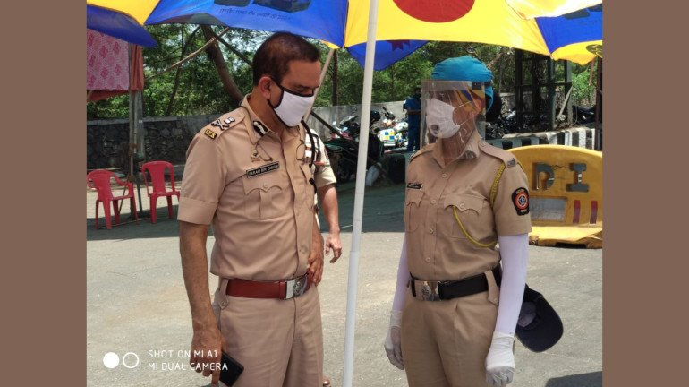 पोलिसांचे मनोबल वाढवण्यासाठी स्वत: मुंबईचे पोलिस आयुक्त रस्त्यावर