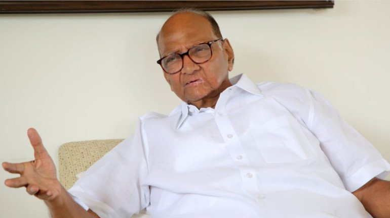 Sharad Pawar Tweets about Shiv Sena Leader joining NCP, deletes later