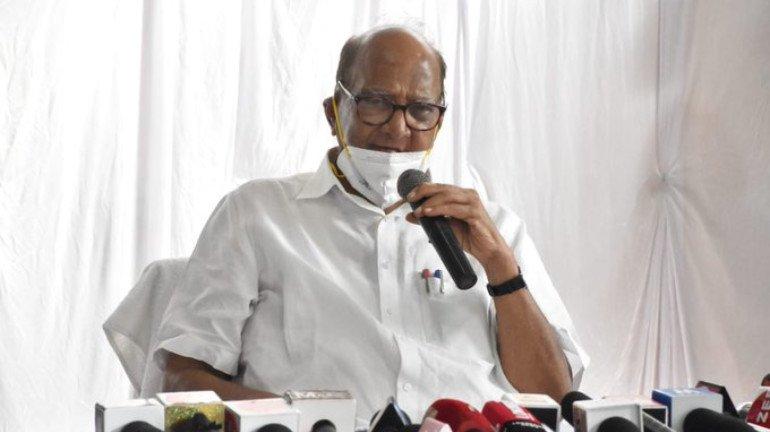 पंतप्रधान मोदींनी थाेडं महाराष्ट्रावरही 'प्रेम' दाखवावं- शरद पवार