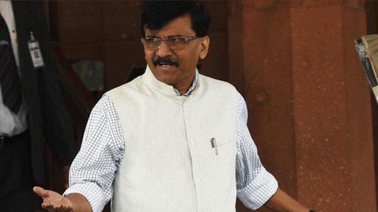 Slogan Controversy: Shiv Sena leader Sanjay Raut corners BJP over its silence