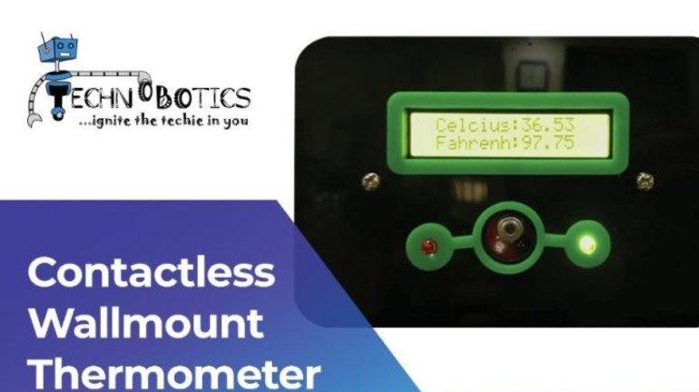 Mumbai-based innovators design a 'Contactless wall-mountable temperature monitor' amidst coronavirus pandemic