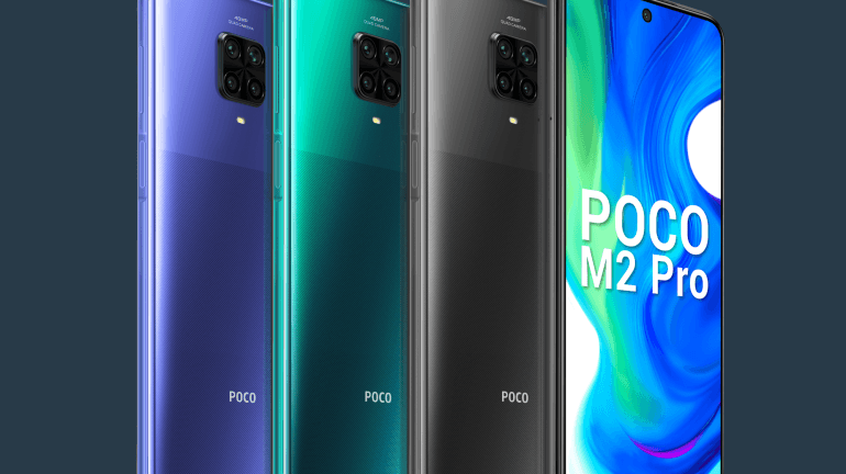 POCO Launches M2 Pro With Quad-Camera and Bezel-Less Screen