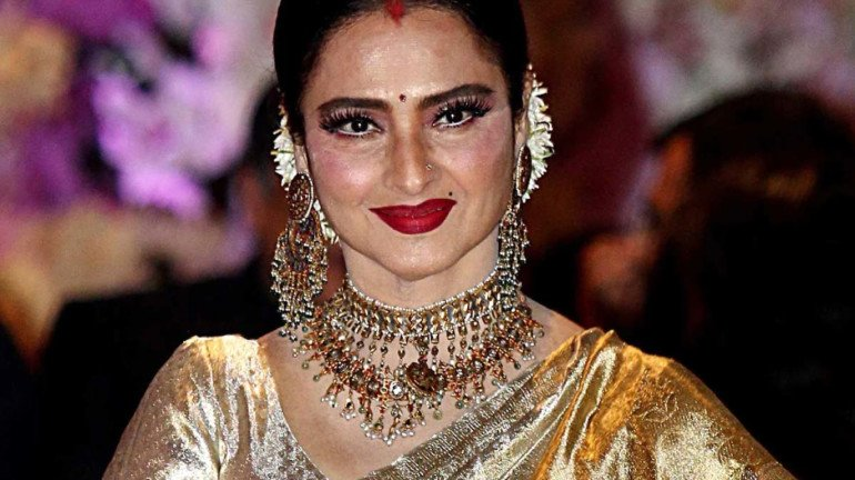 Actress Rekha's bungalow sealed as security guard tests positive for coronavirus
