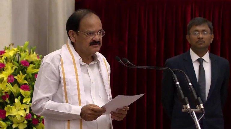 No disrespect at all: Vice President Venkaiah Naidu on slogan controversy