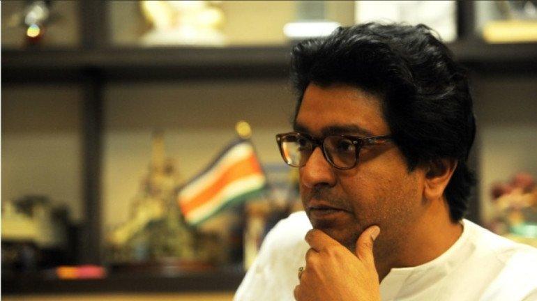 MNS President Raj Thackeray pays homage to Late Ahmed Patel