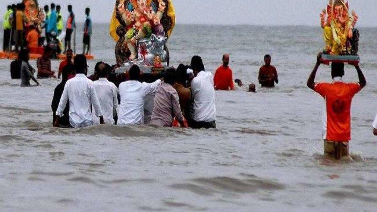 BMC issues clarification regarding immersion of ganpati idols in the sea