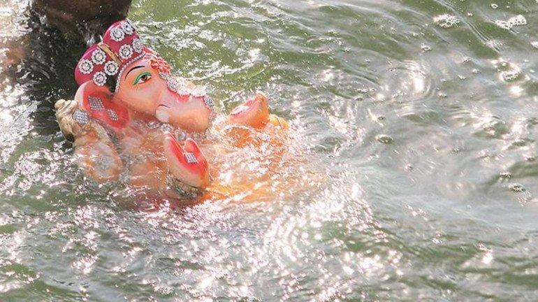 नवी मुंबई में गणेश विसर्जन के लिए 130 कृत्रिम तालाब