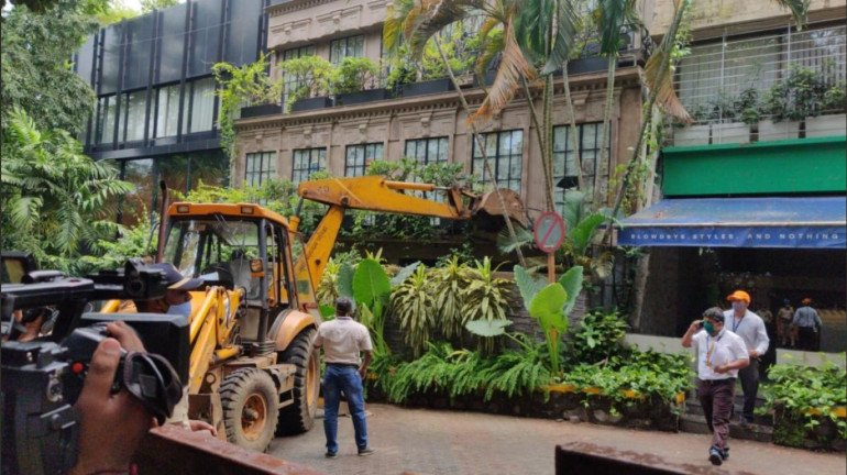 """""""Illegal and wrongful"""": Bombay HC on BMC's demolition of Kangana's office"""