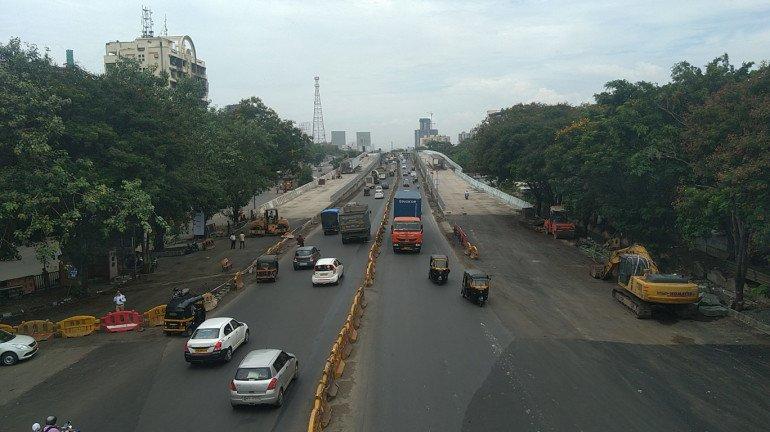 15 दिनों के भीतर लोगों के लिए खुल सकता है कोपरी पुल का नया हिस्सा