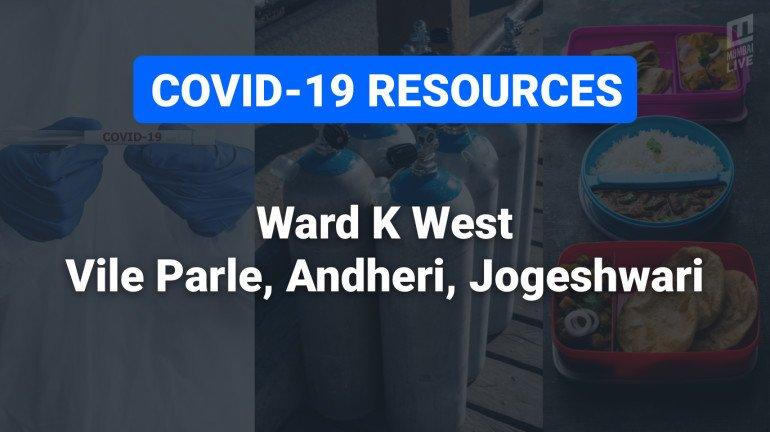 COVID-19 Resources & Information, Ward K West : अंधेरी पश्चिम