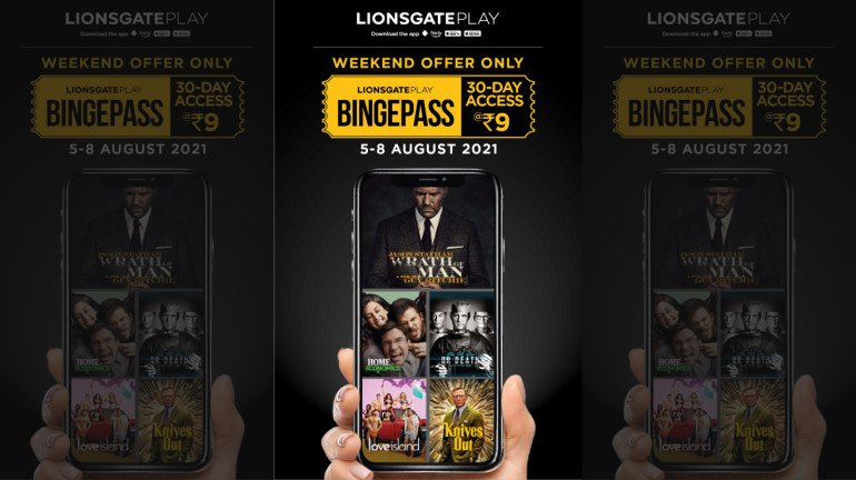 Lionsgate Play Launches BingePass Offer; Ananya Panday roped in for their new TVC
