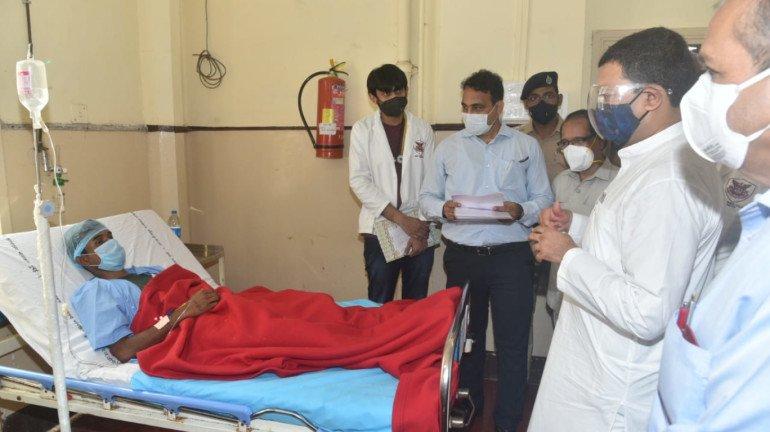 महाड दुर्घटनेतील जखमींवर जे. जे. रुग्णालयात उपचार सुरू