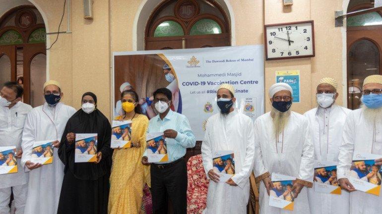 COVID-19: Dawoodi Bohras convert Masjid Complex into a Vaccination Centre in South Mumbai