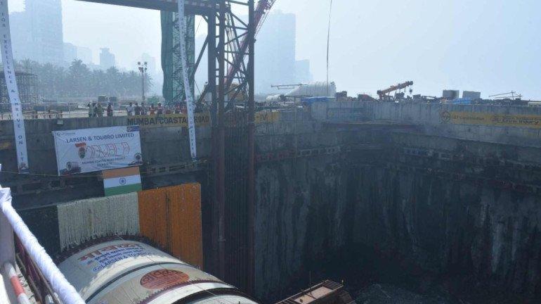 CM Thackeray launches Coastal Road Tunnel boring machine