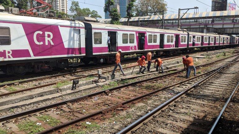 सेंट्रल रेलवे के ट्रैक पर अब नहीं भरेगा पानी, रेलवे कर रही है ऐसा काम