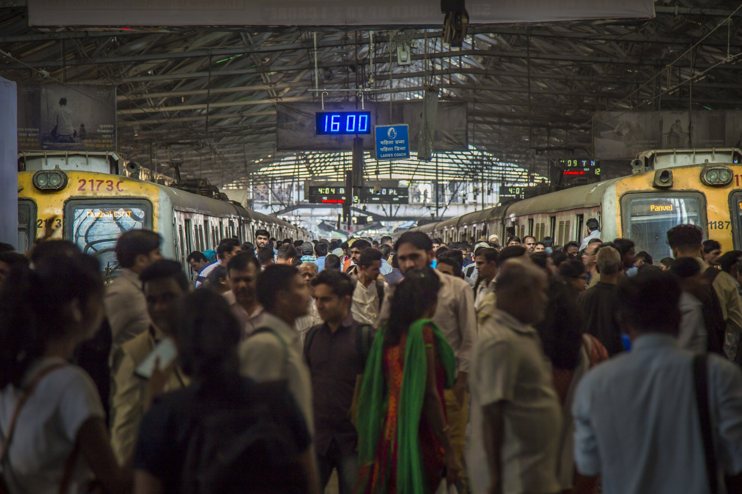 Passengers travelling from CSMT railway station decrease in huge numbers