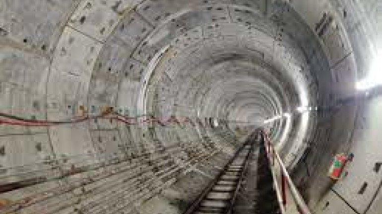 महालक्ष्मी मेट्रो स्टेशन का अंडरग्राउंडिंग चरण पूरा