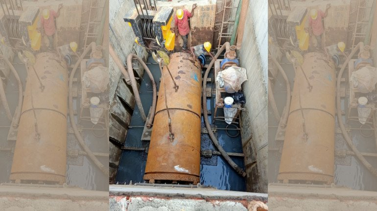 Micro-tunnelling work completed at Masjid Railway Station, says CR