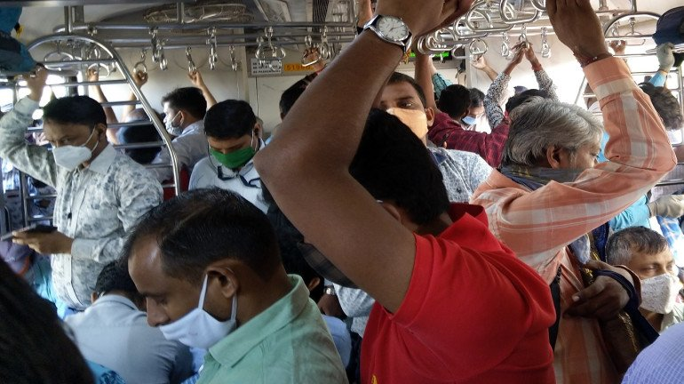 Mumbai local train resumption to be blamed for surge in COVID-19 cases?