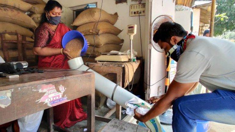 मुम्बई, ठाणे में मुफ्त खाद्यान्न का वितरण शुरू