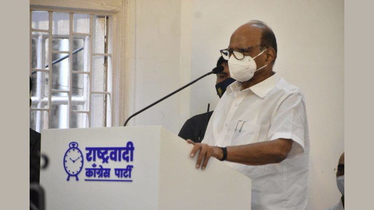 We never showed arrogance of power: NCP chief Sharad Pawar takes a dig at BJP