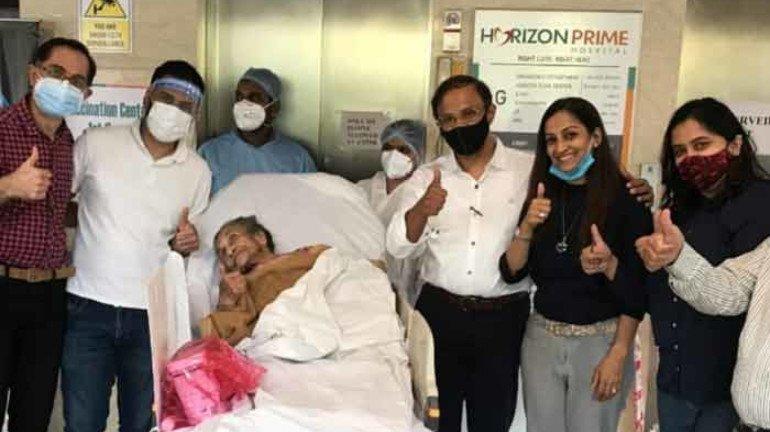मुंबई : 102 वर्षीय वृद्ध महिला ने कोरोना को दिया मात
