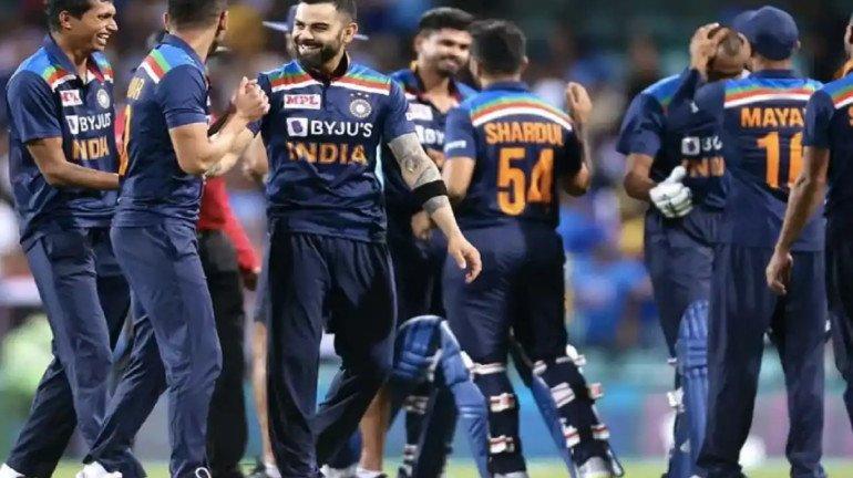 टीम इंडिया आता टी-२० रँकिंगमध्ये दुसऱ्या क्रमांकावर