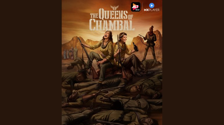 ALTBalaji announces The Queens of Chambal with an artsy poster!